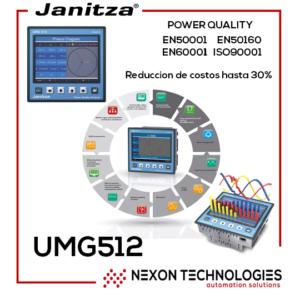 UMG512 JANITZA MEDIDOR ENERGIA