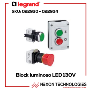 BLOCK LUMINOSO LED 130V BLA