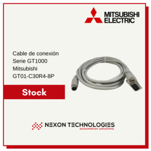 Cable de conexión Mitsubishi GT01-C30R4-8P