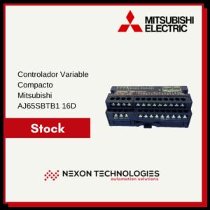 Controlador programable compacto AJ65SBTB1 16D