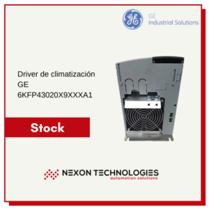 Driver de climatización 6KFP43020X9XXXA1 GE