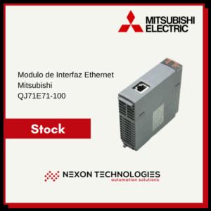 Módulo de interfaz ethernet QJ71E71-100