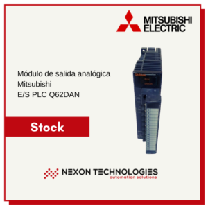 Módulo de E/S PLC Q62DAN