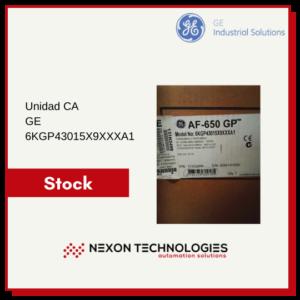 Unidad CA General Electric 6KGP43015X9XXXA1