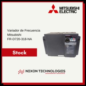Inversor, variador de frecuencia FR-D720-318-NA