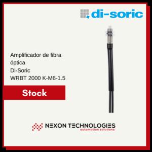 Amplificador de fibra óptica WRBT2000K-M6-1.5