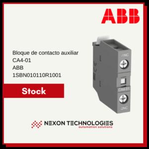 Bloque de contacto auxiliar 1SBN010110R1001