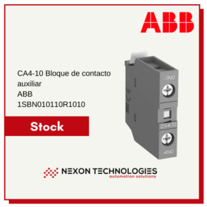 Bloque de contacto auxiliar 1SBN010110R1010