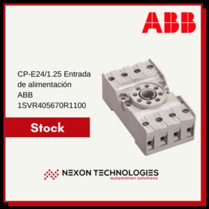 Zócalo para relé ABB 1SVR405670R1100
