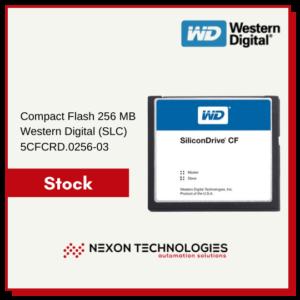 Tarjeta CFlash 256 MB 5CFCRD.0256-03 | B&R