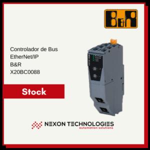 Controlador de bus X20BC0088 | B&R