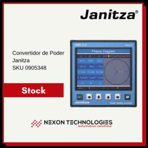 Convertidor de poder 0905348   Janitza