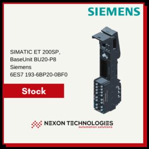 6ES7 193-6BP20-0BF0   Siemens