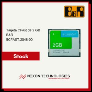 Tarjeta CFast 2GB 5CFAST.2048-00 | B&R