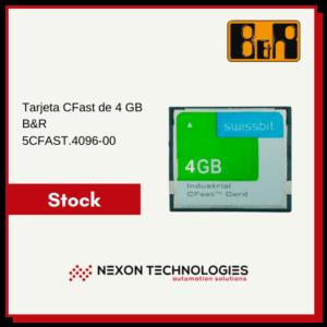 Tarjeta CFast 4GB 5CFAST.4096-00 | B&R