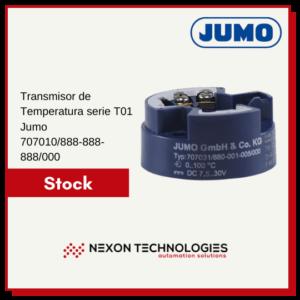 Transmisor de temperatura   Jumo
