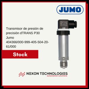 Transmisor de presión   JUMO