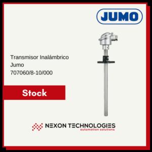 Transmisor inalámbrico JUMO 707060/8-10/000