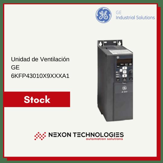 Unidad de Ventilación GE 6KFP43010X9XXXA1 Stock en Nexon Technologies